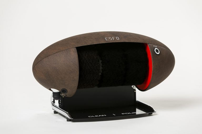 ShoeCare cipőtisztító gép leather_lux_open_left