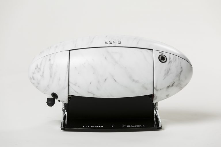 ShoeCare cipőtisztító gép marble_lux_closed_front