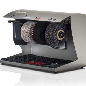 ShoeCare cipőtisztító gép Elegance-Coleur-V2A-gebürst