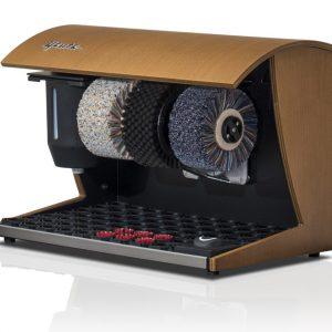 ShoeCare cipőtisztító gép Elegance-Nature-Walnuss-hell