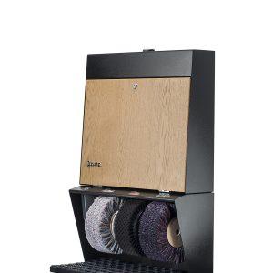 ShoeCare cipőtisztító gép Polifix 3 Eiche hell
