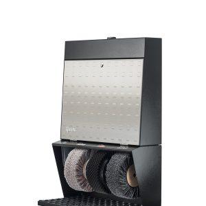 ShoeCare cipőtisztító gép Polifix 3 Steel Design