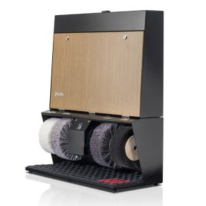 ShoeCare cipőtisztító gép Polifix-4-Super-Eiche-hell